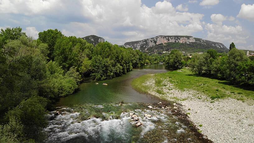 Paysage rapides Gorges de l'Hérault