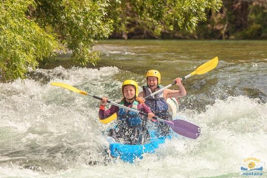 Descente des gorges de l'Hérault en canoe