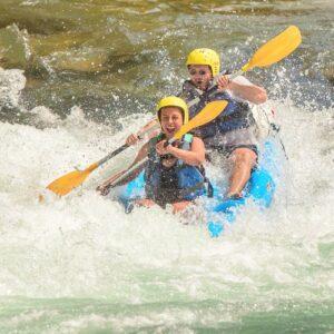 Canoe rapides gorges de l'Hérault